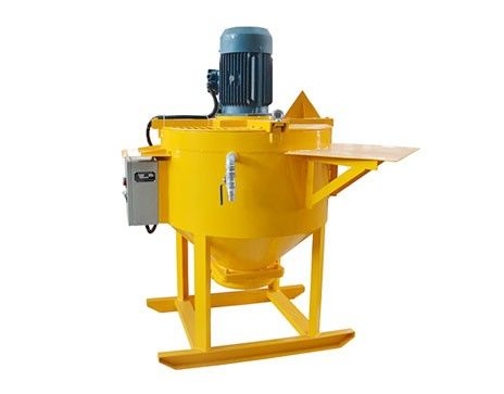 WM300E and WM400E high shear grout mixer