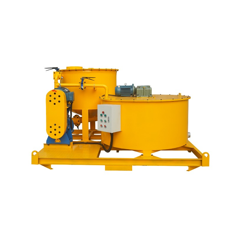 WMA850-1500E Bentonite cement grout mixer and agitator