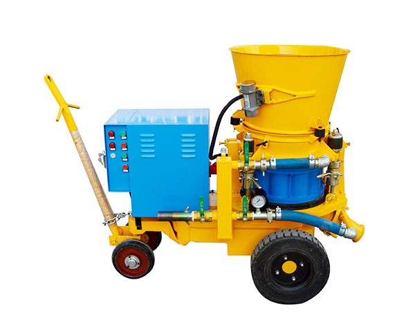 Characteristics and applications of refractory shotcrete machine