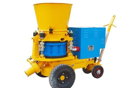 What is a refractory shotcrete machine?
