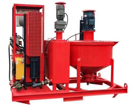 WGP300/300/75PI-E Cement Grout Plant for Mining
