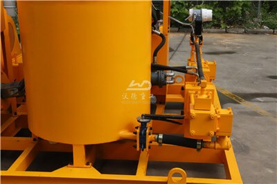 cement grout pump and mixer unit