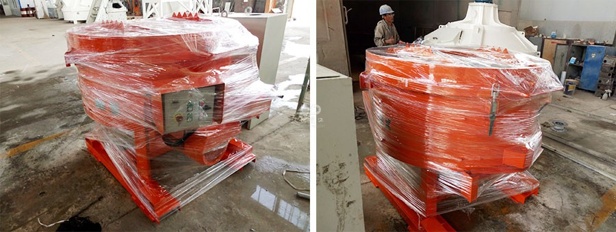 WRM-Refractory-Pan-Mixer-Packing